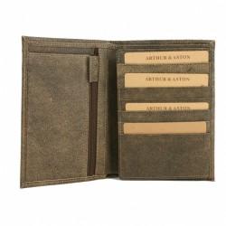 Grand portefeuille en cuir Destroy Arthur&Aston