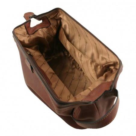 G. HENON- Trousse de Toilette 5204 marron