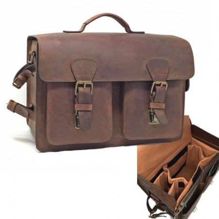 RUITERTASSEN sac photo cuir LUMIERE